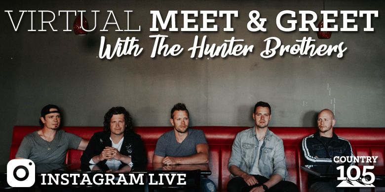Virtual Meet & Greet with The Hunter Brothers
