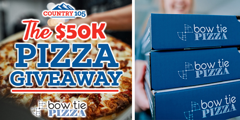 The $50K Pizza Giveaway – Bow Tie Pizza