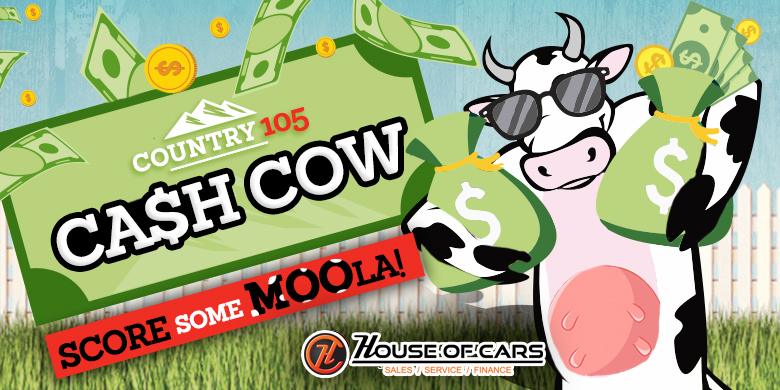 Country 105 Cash Cow