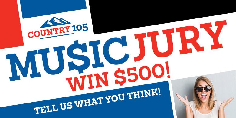 Country 105 Music Jury